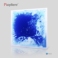 Royllent Colorful Liquid Dance Floor PVC Mats Interactive floor projection system 300*300mm