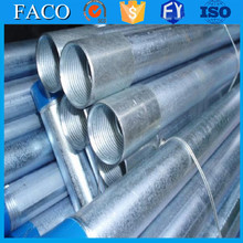 steel structure building materials ! pre galvanized culvert pipe 24 inch 3/4 inch galvanized steel pipe