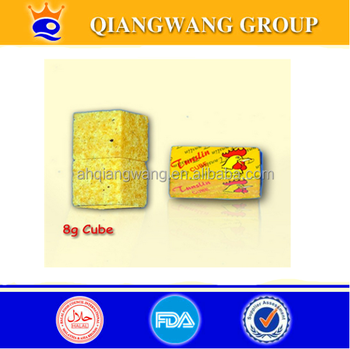 8G*72*24 CHICKEN POULET TABLET CUBE SEASONING CUBE CHICKEN BOUILLON CUBE SOUP CUBE CHCKEN CUBE