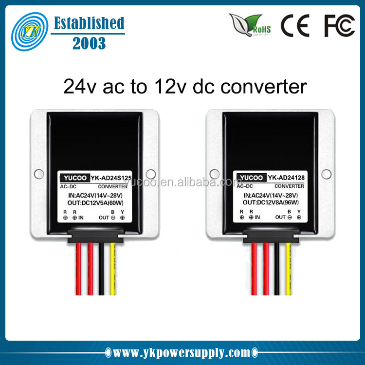 Single Output 24v to 12v Step Down ac dc converter