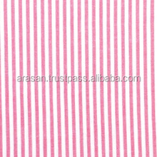 100%COTTON YARN DYED SHIRTRING STRIPPED FABRIC