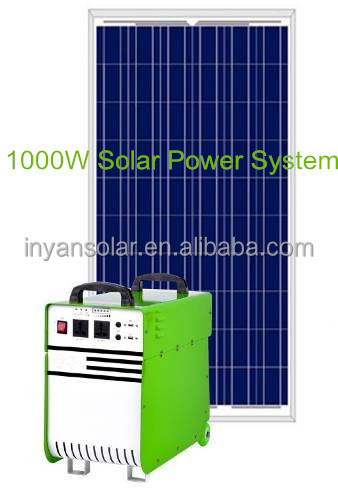 Popular 1kw solar system for home