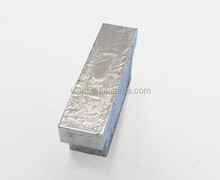tin ingot with different purtiry 99.99% ,99.95%,99.9%