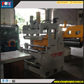 high speed metal coil plate sheet cut to length line and cross cutting
