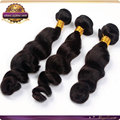 alibaba Brazilian virgin human remy weft pure color loose curly extension hair double and strong sewn china manufacture