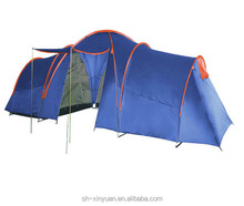 twelve person three inner tents double layers camping tent/family tent with all seam taped