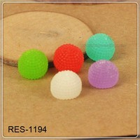 plastic resin flatback cabochon wholesale RES-1194 cheap casting resin