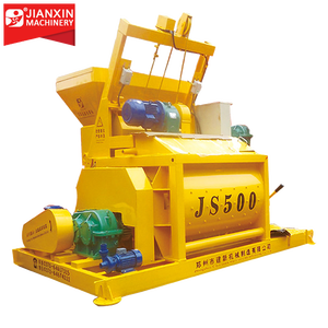 JS500 self loading mobile diesel pan pinion for concrete mixer