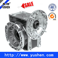 high quality aluminum RV type worm gear boxes
