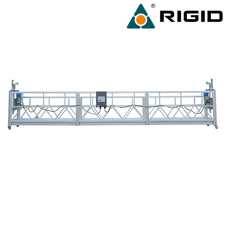 Aluminium lifting construction gondola