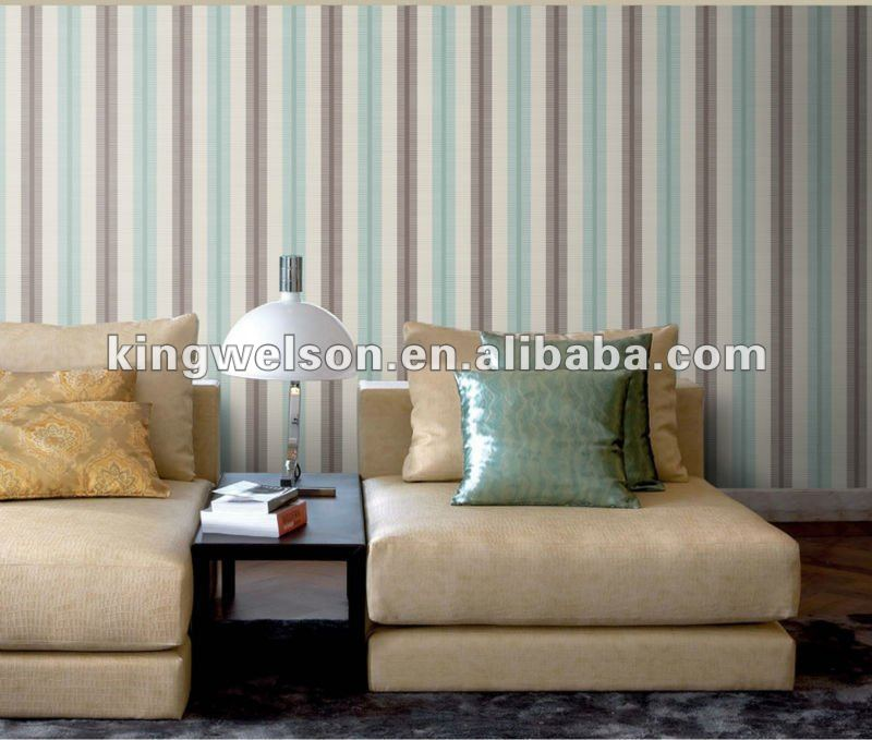 stripe modern design Non-woven wallpaper distributor wanted animal to animal sex Chinese Wall Covering Manufacturer