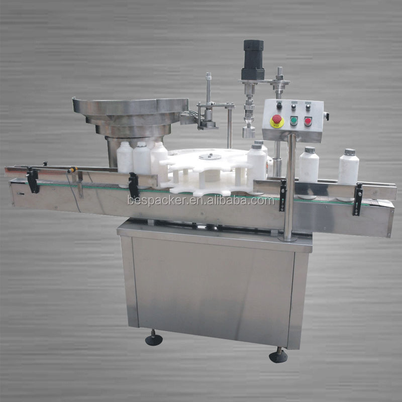 HC-50 rotary type Automatic capping machine for plastic juice bottles