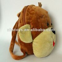 cute kids zoo animal backpack plush toy for kid