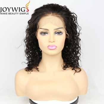 Top selling brazilian hair wigs for black women jerry curly lace front wig