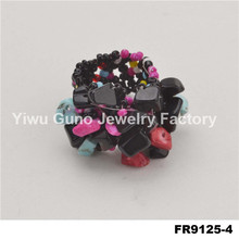 changing color mood ring jewelry wholesale adjustable rings