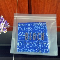 plastic custom mini decorative ziplock bag