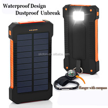 Waterproof Solar Power Bank Universal Power Bank Best Solar Charger 20000mah Best Charger Supplier