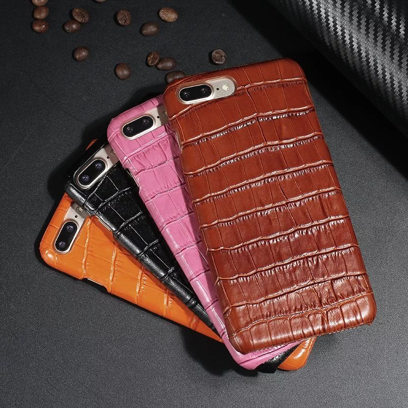wp1029 Crocodile Leather Protective Phone Case