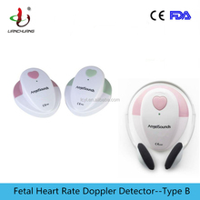 Baby heartbeat listener angelsounds fetal pregnancy doppler with FDA certificate