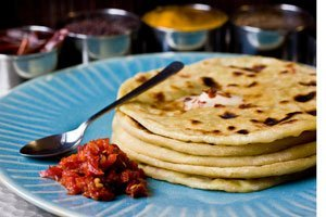 indian paratha bread