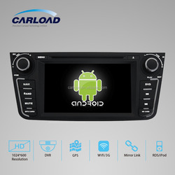 Android 5.1.1 2 din car radio for Geely GX7 Car radio dvd with gps navigation