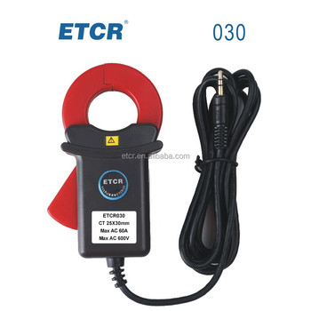 ETCR030 High Accuracy Clamp AC Leakage Sensor
