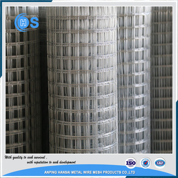 high quality stainless steel gabiony 4x4 welded wire mesh