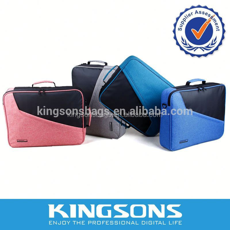 Multifunctional and Promotional High Quality Custom Noprene Laptop Bags with In-built Tablet Pocket for 15.6 Laptops