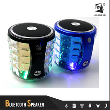 bluetooth mini speaker with disco light sound box T-2096A