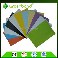 Greenbond wall cladding exterior plastic of adhesive film aluminum composite panel for long term