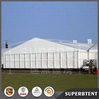 High quality giant 25x60m strong aluminum used clear span tent storage warehouse tent vehicle storage tents