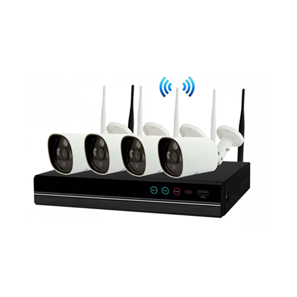 Newest unique 4Channel special appearance <strong>1</strong>.0MP IP PRO APP Wireless NVR kit security kit