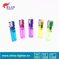 ISO9994 Flame lighter Europe Standard Disposable Plastic Cigarette Lighter