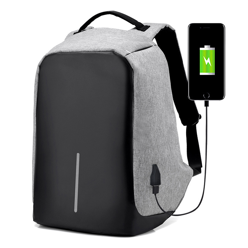 Wholesale computer backpack Travelling laoptop Anti theft backpack With USB Charging