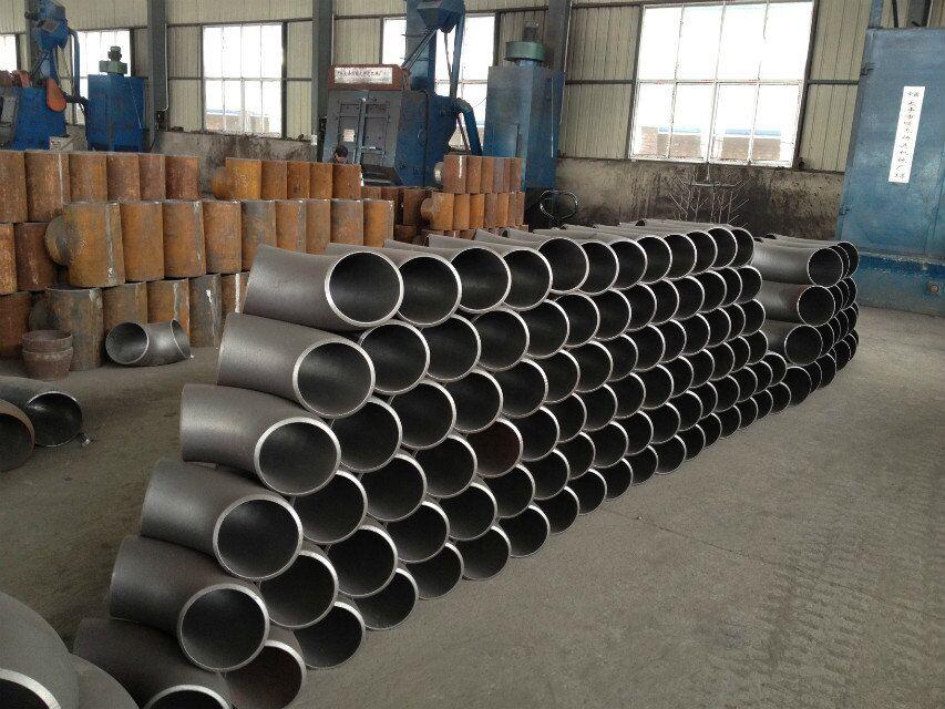 ASTM A234 WPB seamless cs fittings black steel pipe fittings