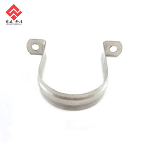 High Quality Stainless Steel Two Hole Pipe Saddle Clamp