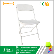 general use stackable plastic chair/modern wholesale party folding chair white garden plastic chair outdoor