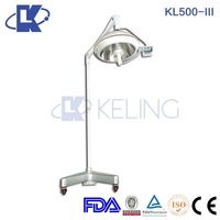 (KL500-III) Portable Battery AC/DC emergency Operation Lamp battery operated decorative lamps