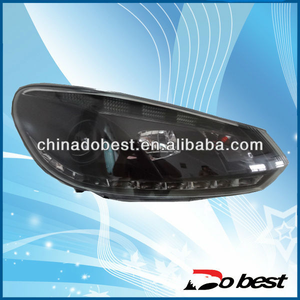 VW Golf Head Lamp