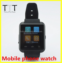 2016 New Wearable U8 Sport Watch With Pedometer watch, Latest Price Of Smart Watch bluetooth mobile Phone