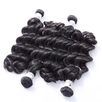 trending products attractive unprocessed machine double weft ombre hair bundle