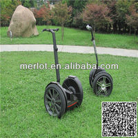 Wheel travel scooter
