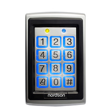 Waterproof Metal Access Control for single door entrance with card reader and keyboard input