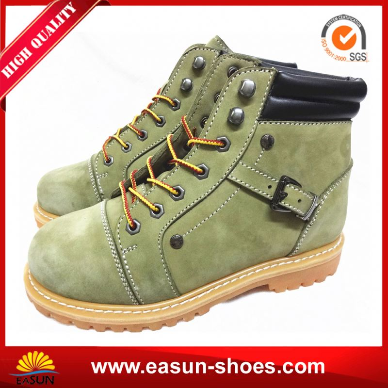 Safety Shoes Manufacturer Safety Boots Goodyear Welt Leather Safety Footwear
