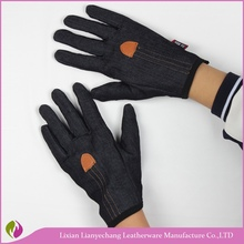 Balck professional winter warm touch screen Sports Gloves for Rock Climbing
