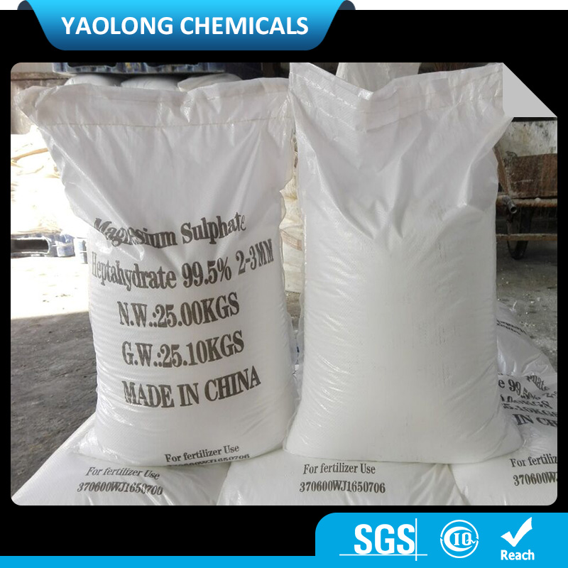 Agriculture Grade magnesium sulphate agriculture fertilizer for sale 99.5%