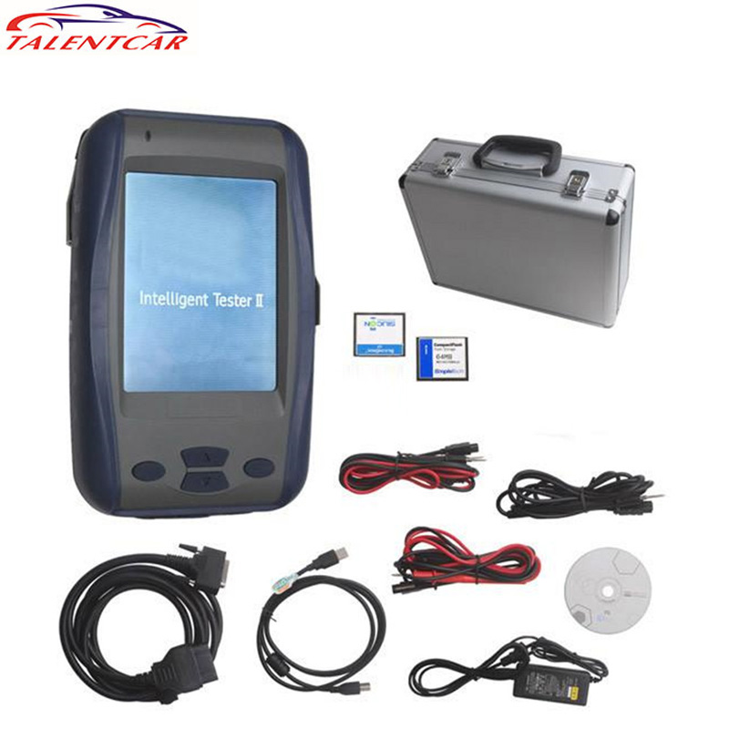 For Toy-ota IT2 V2017.1 Intelligent Tester 2 Auto Diagnostic Tool for Toy-ota IT2 Tester2 with 2 cards with Oscilloscope on sale