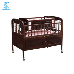 High Quality Wooden Baby Swing Cot/Indian Furniture Wholesale