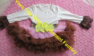 Girls Pettiskirt- Birthday Outfit - 1st birthday clothes - Cupcake birthday outfit - First Birthday - Tutu Birthday outfits