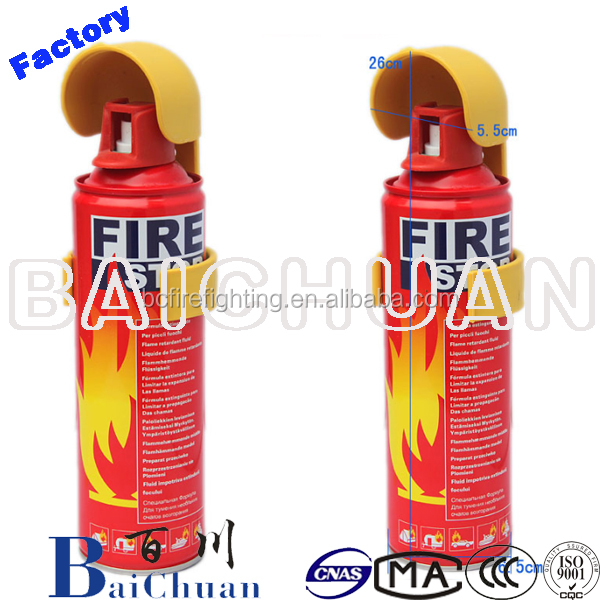 Small Car Fire Extinguisher Fire Extinguisher Brands Factory Supplier